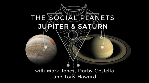 Social Planets Jupiter and Saturn course